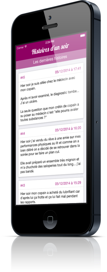 Application android rencontre d'un soir